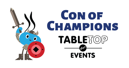 Tabletop Events - Con of Champions - Virtual Game Convention