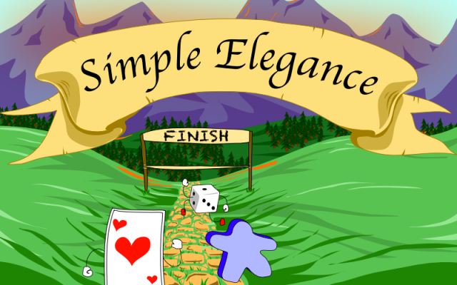 The Game Crafter - Board Game Design Contest - Simple Elegance