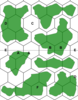 World hex map part 2 - Example with contients