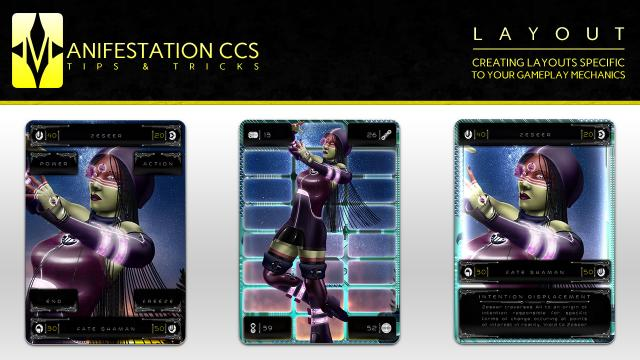TIPS & TRICKS 01: Creating Card Layouts Specific to Your Gameplay Mechanics