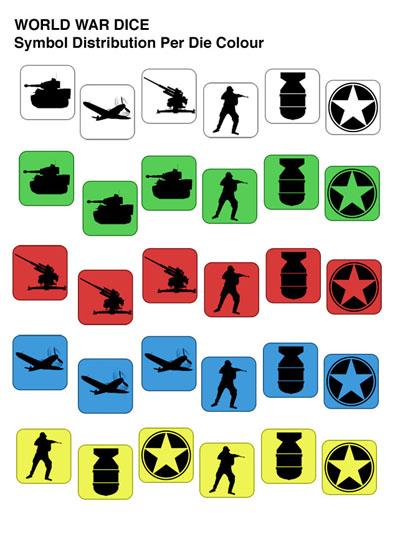 world war dice