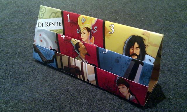Di Renjie Origami Card Holder
