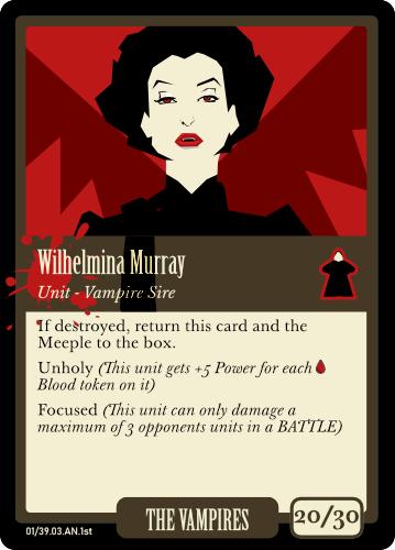 Vampires: Wilhelmina Murray