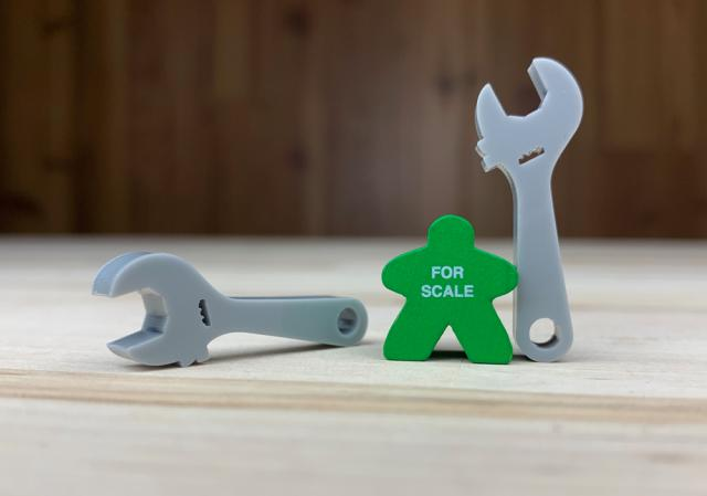 The Game Crafter - Board Game Pieces - Crescent Wrench