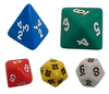 The Game Crafter now stocks all of our dice in multiple colors!