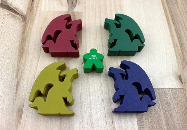 The Game Crafter - Board Game Pieces - Large Dragons