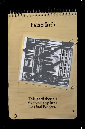 False Info