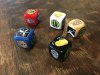 The Game Crafter - Full color custom printed D6 dice for $2 at The Game Crafter