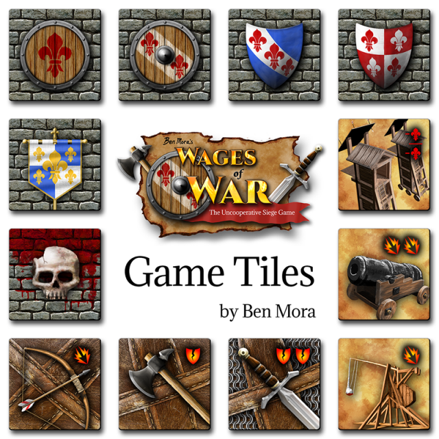Wages of War tiles