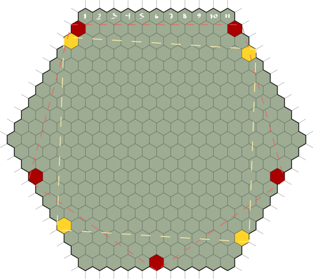 HEX GRID FOR 4 and 5 Players