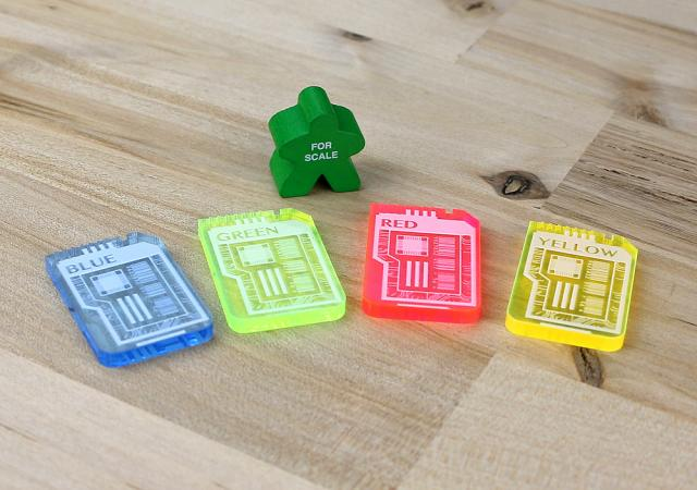 The Game Crafter - Board Game Pieces - Keycards