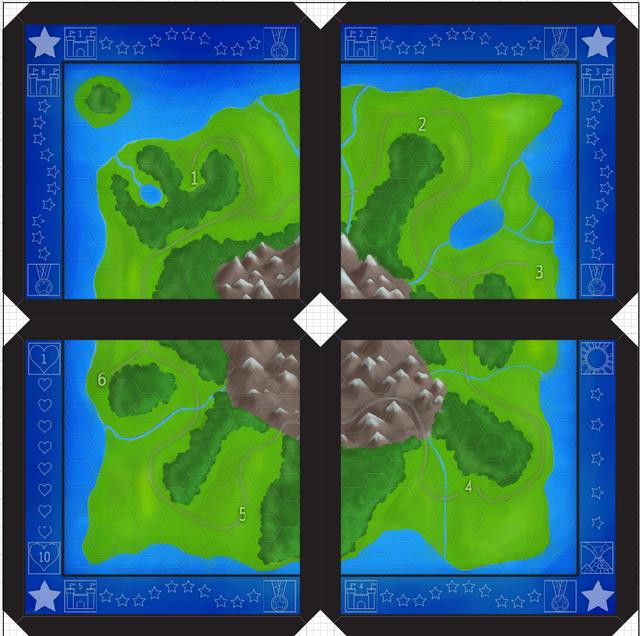 20x20 map demo