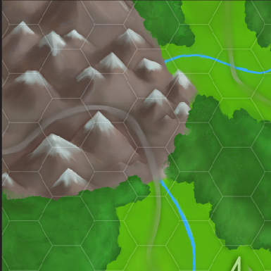 Zoomed in Version of my map