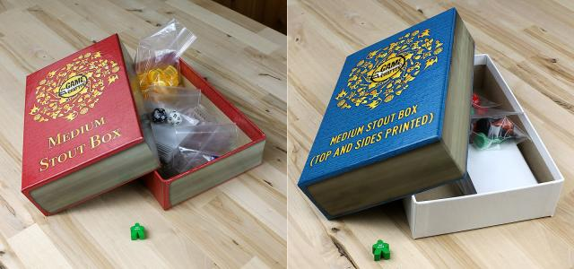 The Game Crafter - Game Box - Medium Stout Box now available at The Game Crafter