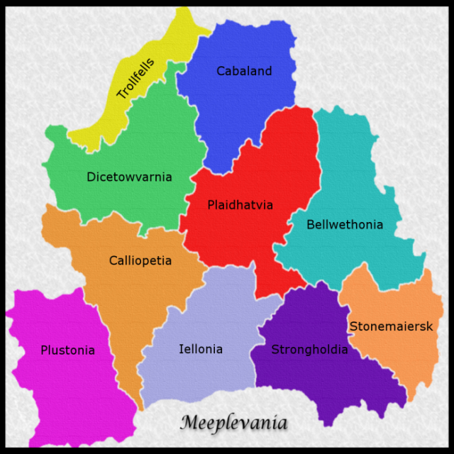 Meeplevania map