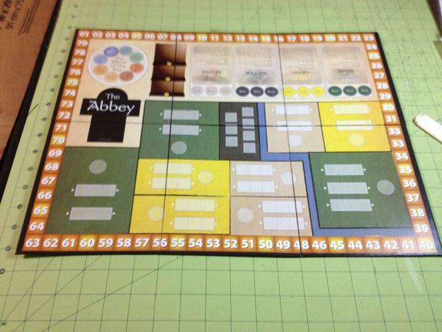 The Abbey gameboard