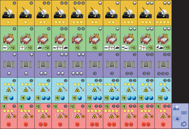 The Manhattan Project Protoype v1.0 Building Cards