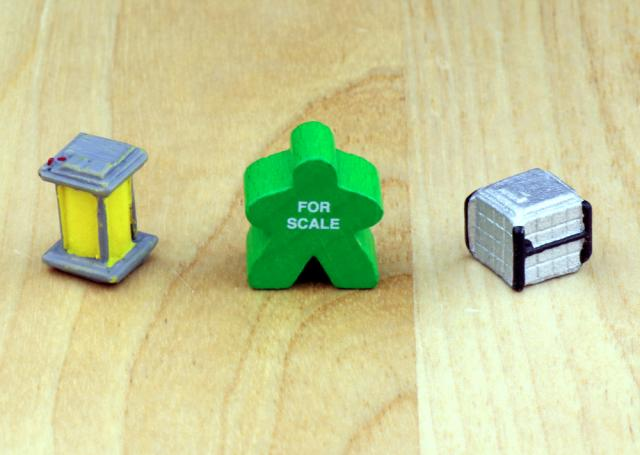 The Game Crafter - Board Game Pieces - Premium Fuel Cell & Premium Space Crate