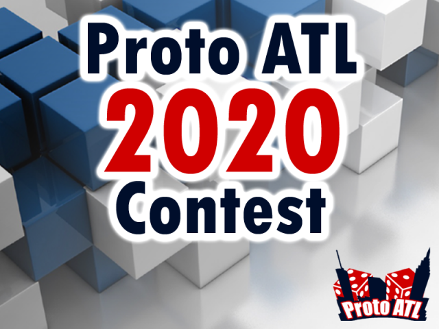 The Game Crafter - Board Game Design Contest - Proto ATL 2020