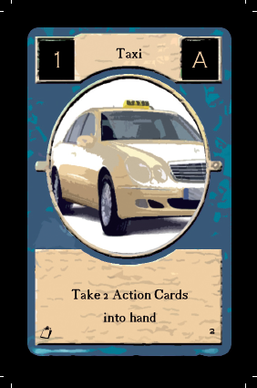 Taxi card