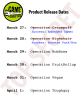 The Game Crafter - Top Secret New Product Release Schedule has been leaked! New products for the next 4 days!