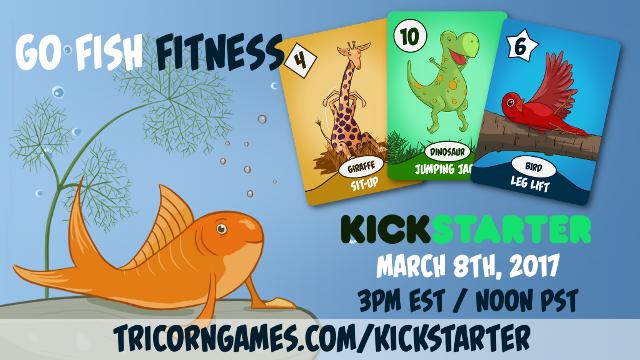 Go Fish Fitness - Kickstarter Announcement