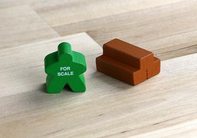 The Game Crafter - Board Game Pieces - Wood Pile